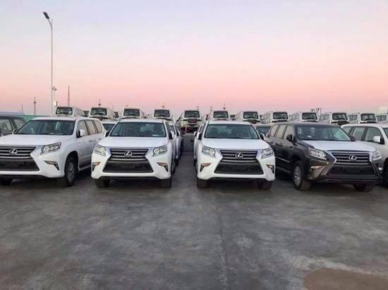 进口雷克萨斯GX460热销奖励终极SUV