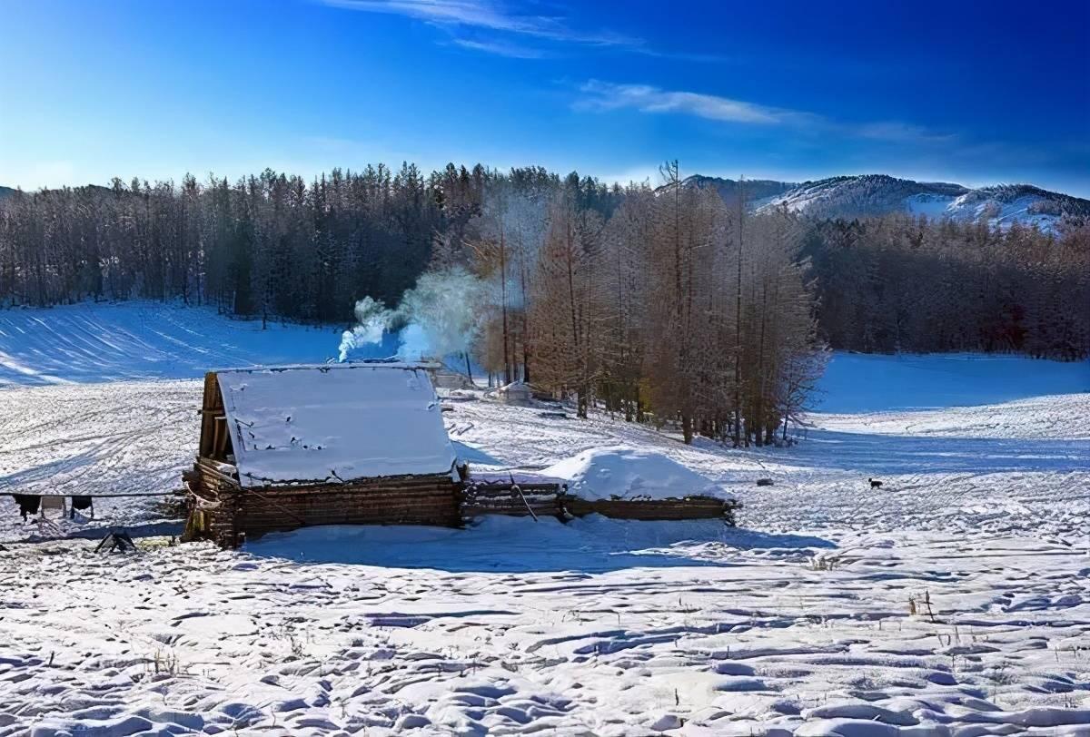 冬天的喀纳斯向来神秘 那些藏在喀纳斯雪山深的故事与秘密你知道吗