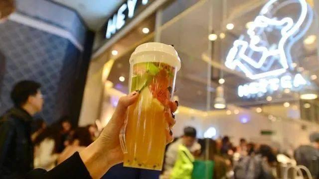 在广州CBD喝不到一杯奶茶