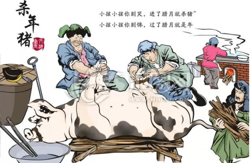 【方志四川•散文】王斌 ‖ 记忆中杀年猪