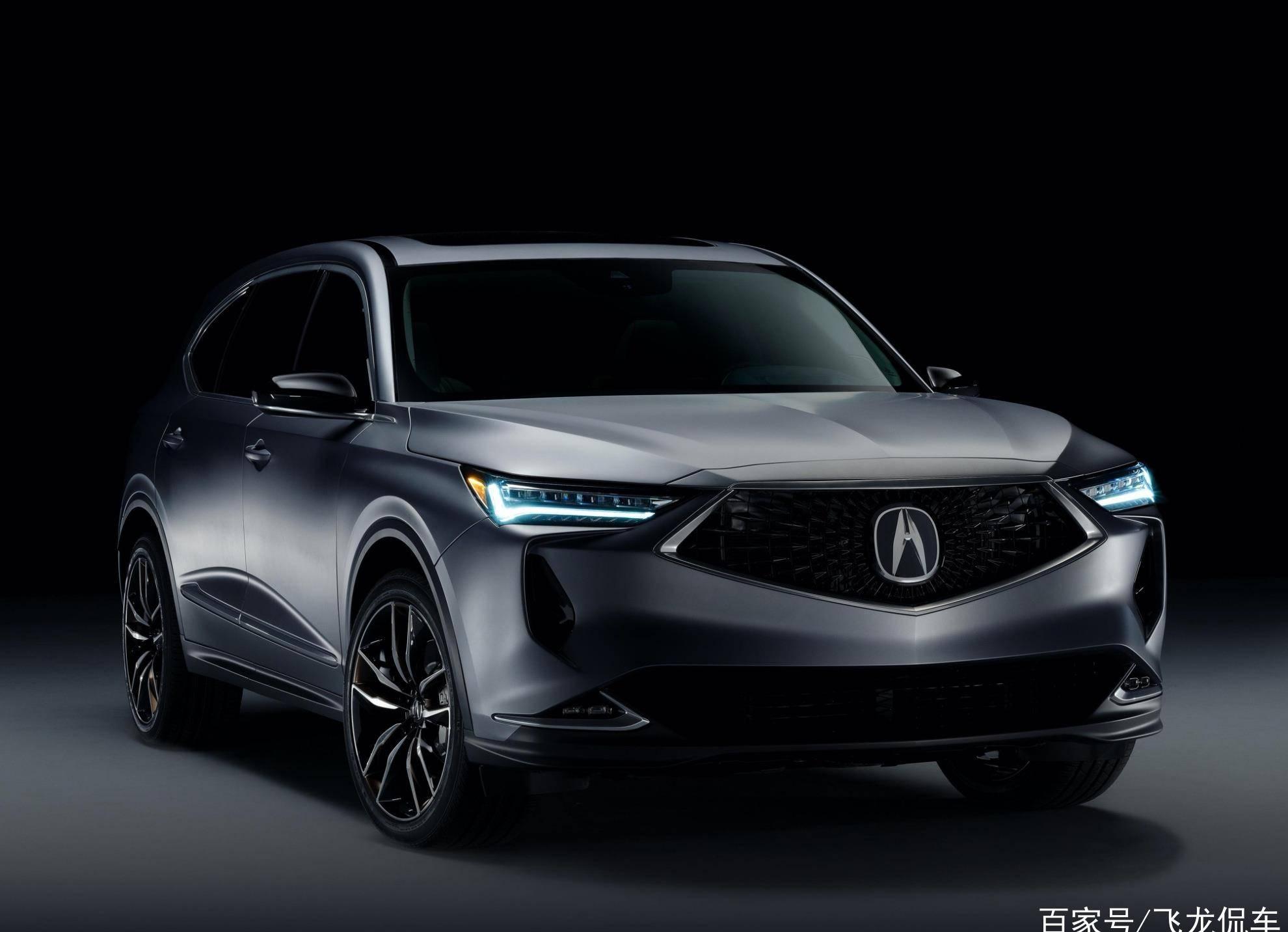本田的另一款原创豪华SUV,长5米,大6座V6发动机,后排降低可以当床用