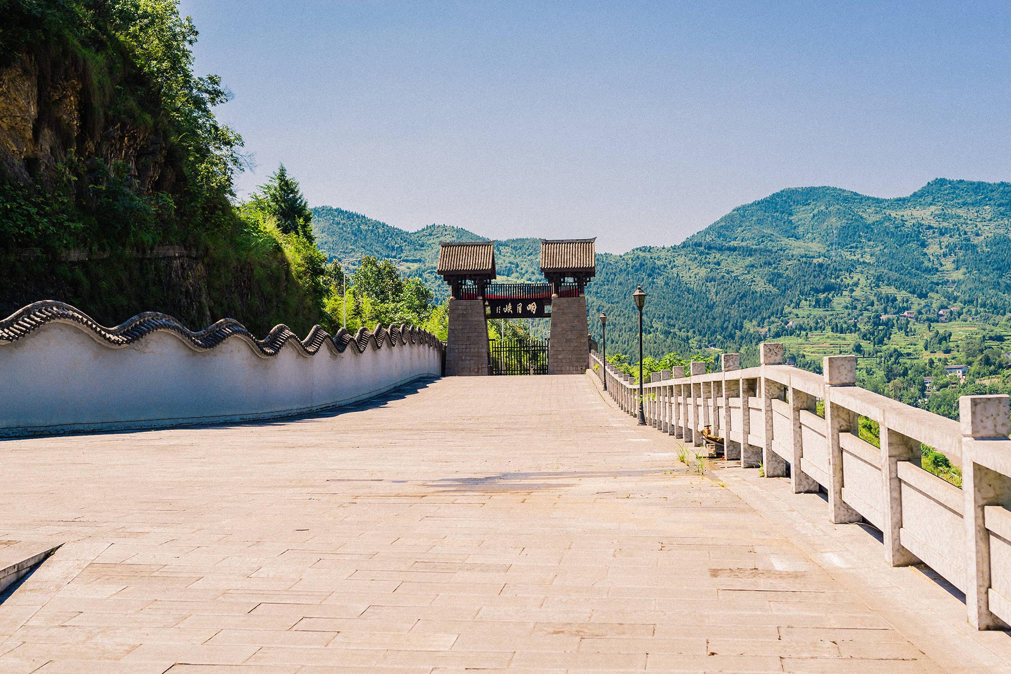 四川和陕西交界处的交通博物馆,同时汇聚6个时代的交通要道