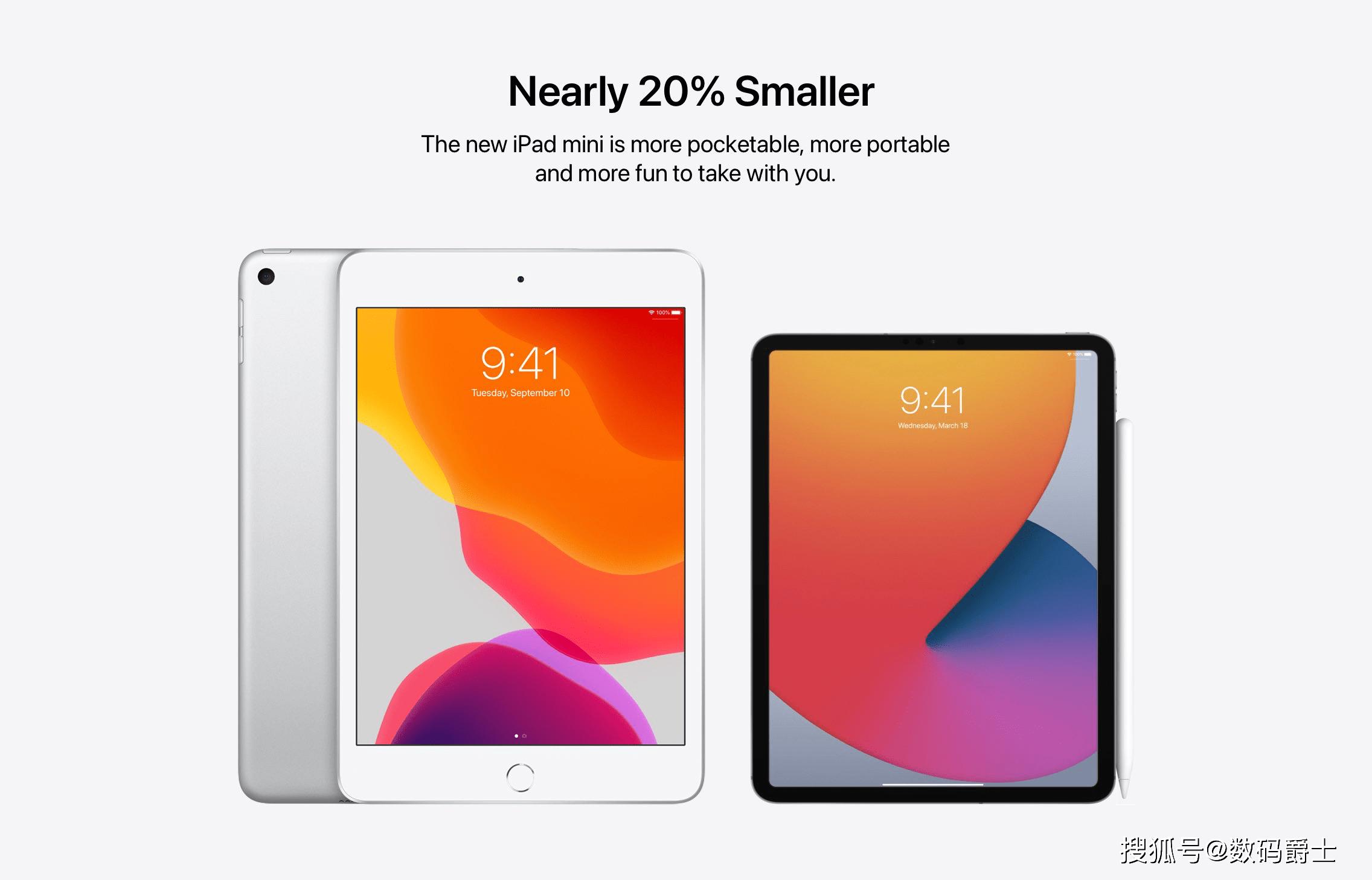 原创             iPad mini 6爆料,8.4英寸屏幕,外观撞脸iPad Air 3