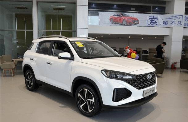 适合家用合资SUV 实拍2021款北京现代IX35