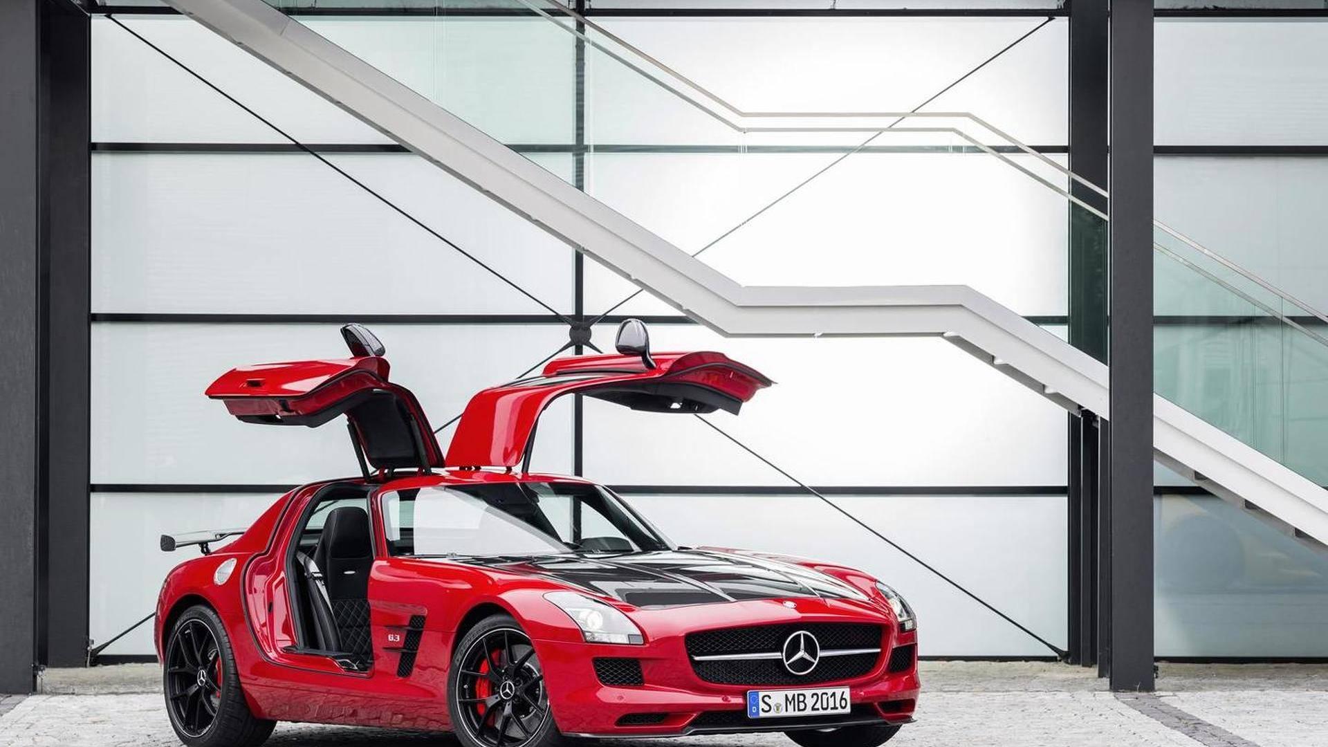 AMG SLS车型中有停产6年的新车?
