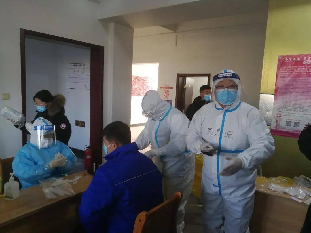 中关村顺义园:新一轮大规模核酸检测进行时