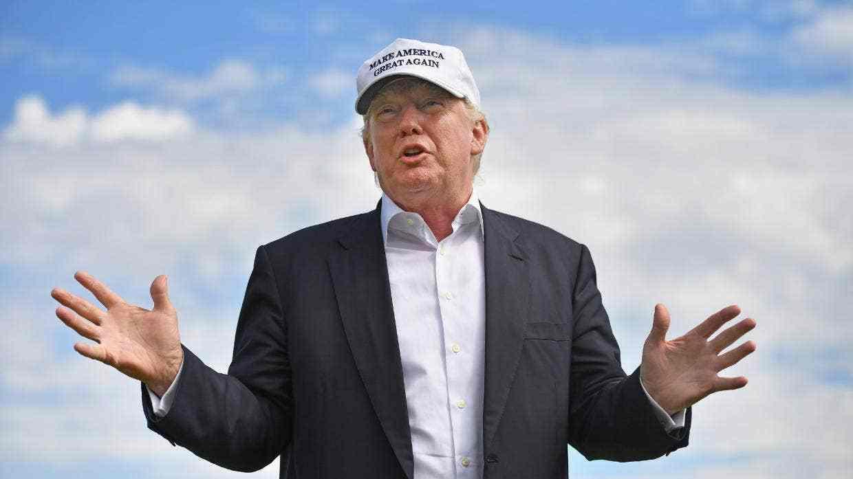 外媒:特朗普爱高尔夫 但高尔夫须划清界限不爱他