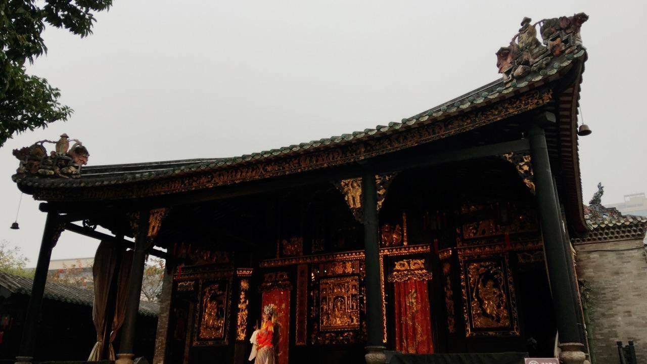广东一座体系完整、结构严谨、具有地方特色的庙宇建筑