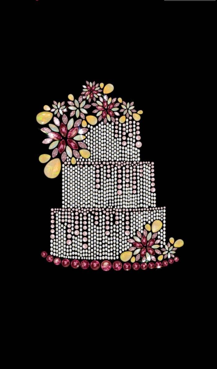 美艳绝伦的珠宝蛋糕