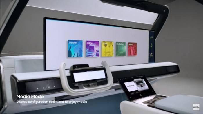 CES2021:三星发布2021数字驾驶舱