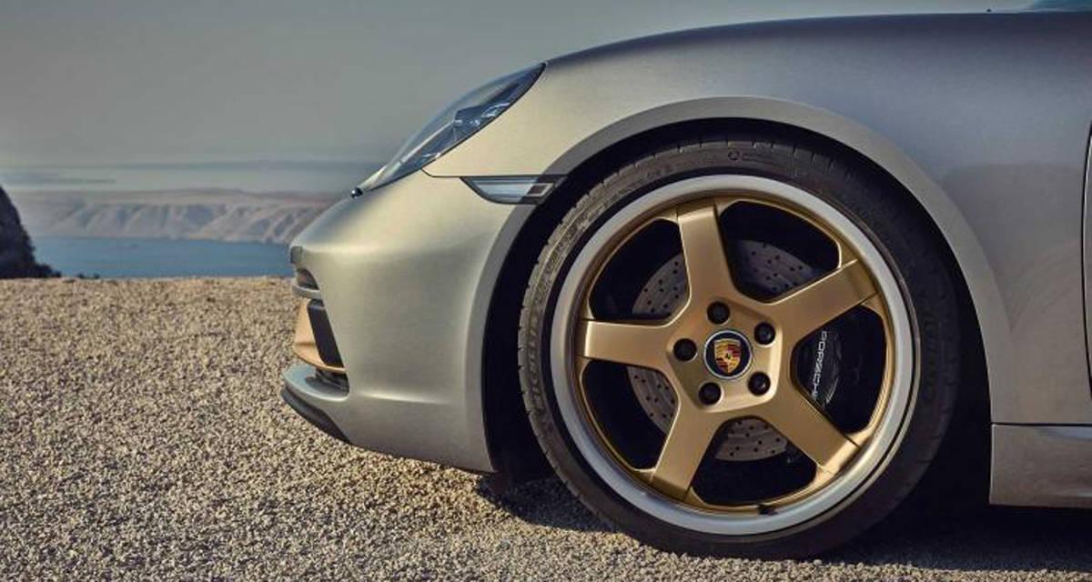 开启预定/限量1250台 保时捷718 Boxster 25周年版官图发布