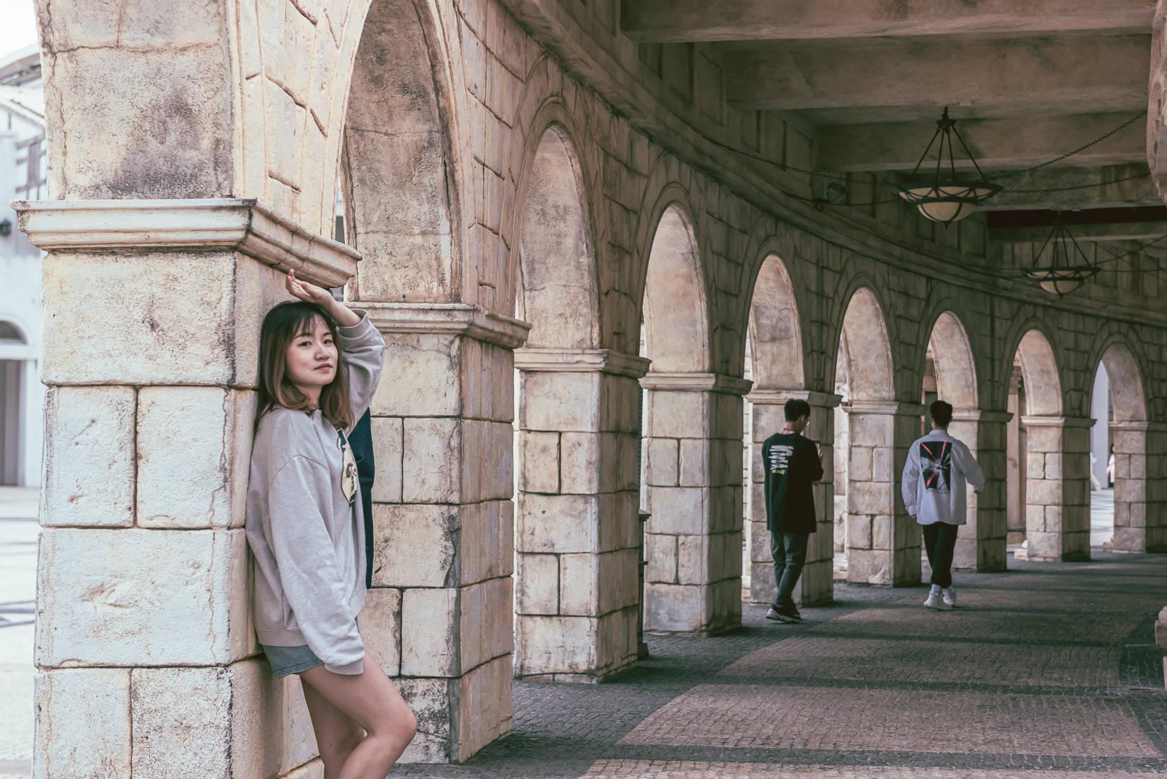 澳门必来的小众拍照景点:仿佛穿梭到欧洲小镇,有一整片复古建筑