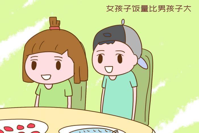 女儿一顿吃20个饺子,被姑姑嫌弃,女孩子饭量大丢人吗?  第2张