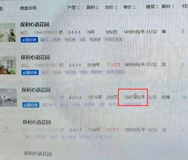 实探:14万成交后,保利心语业主放盘齐冲10万+!