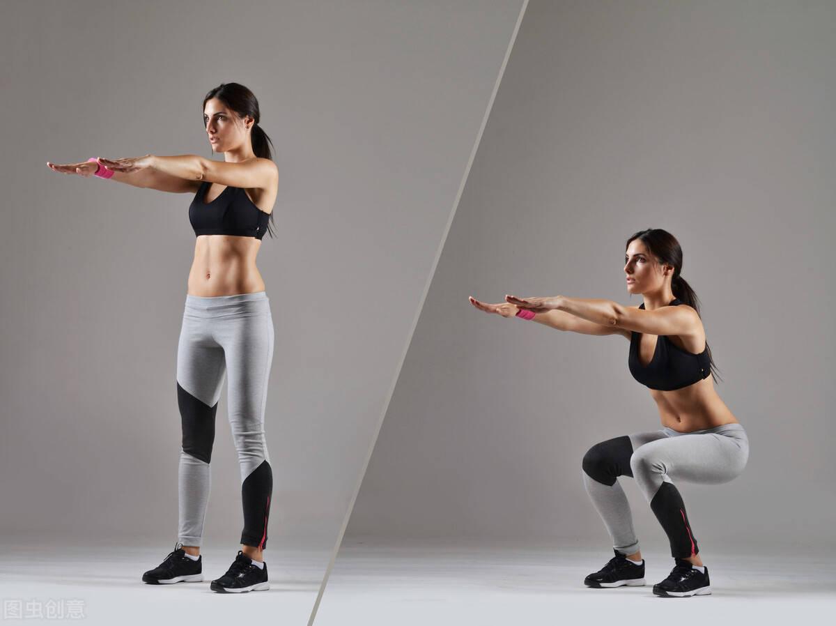我是如何练出马甲线、翘臀身材的?只需要做到这2点!