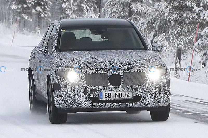 换全铝车身还是推7座版新款奔驰GLC最新谍照曝光
