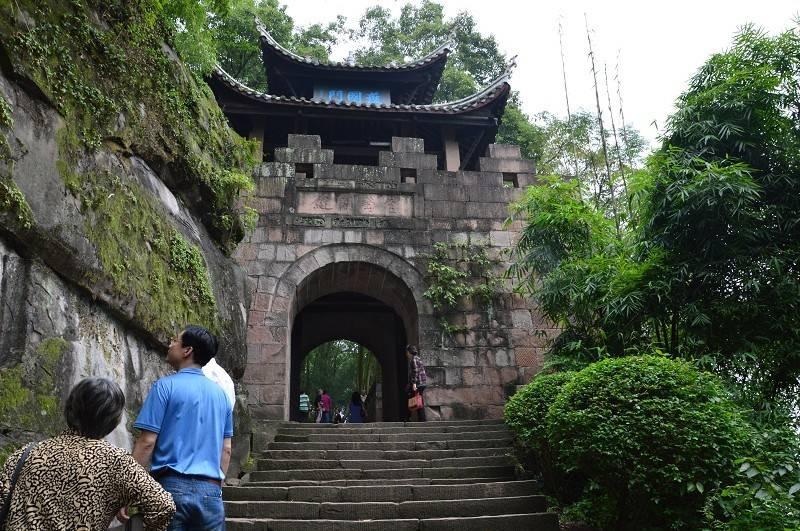 重庆合川区市内有一座小山头,却取名为城,源于一场著名战役