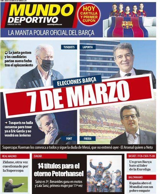 巴塞罗那大选因西班牙疫情被迫推迟冬季窗口签约,被叫停