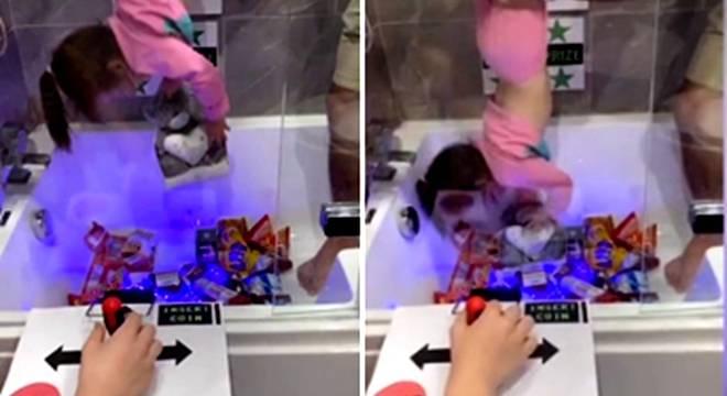 """英国爸爸利用垃圾箱和浴缸设计创意""""抓娃娃机""""_中欧新闻_欧洲中文网"""