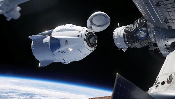 SpaceX载人龙飞船与国际空间站完成对接