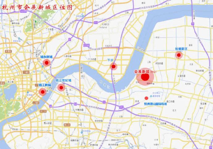 奥比岛小耶杭州钱塘江南岸又要多一座新城!今年启动建设