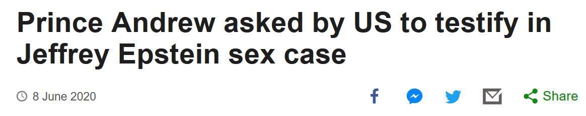 美司法部长:美国不会因爱泼斯坦性侵案引渡英国王子安德鲁助查