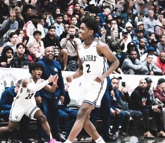 詹皇之子全美第24,韦德之子难进NBA,那他们的爹高中有多强呢?
