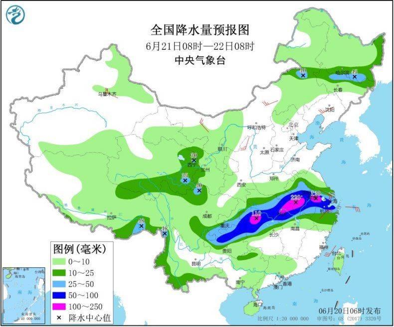 长江中下游等地有强降雨 华北等地将有高温天气