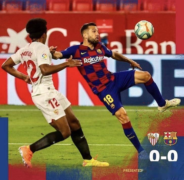 西甲第30轮巴塞罗那客场挑战塞维利亚。上半场梅西与卡洛斯的纠纷引发两队冲突