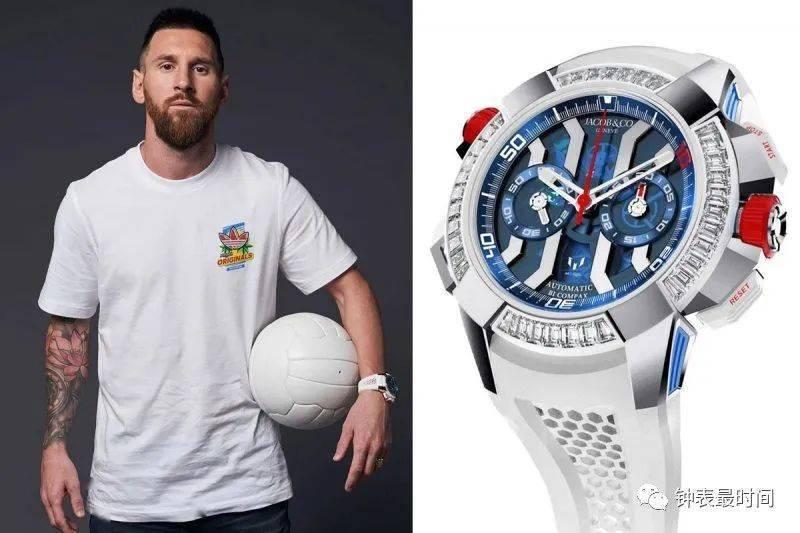 2020年上半年收入前五的体坛巨星与他们的腕表