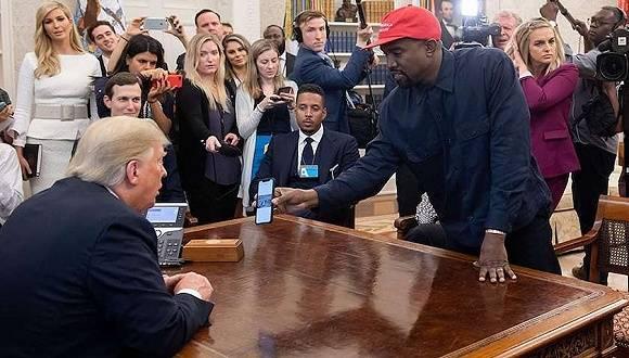 """歌手""""侃爷""""宣布竞选美国总统,马斯克:全力支持_维斯特"""