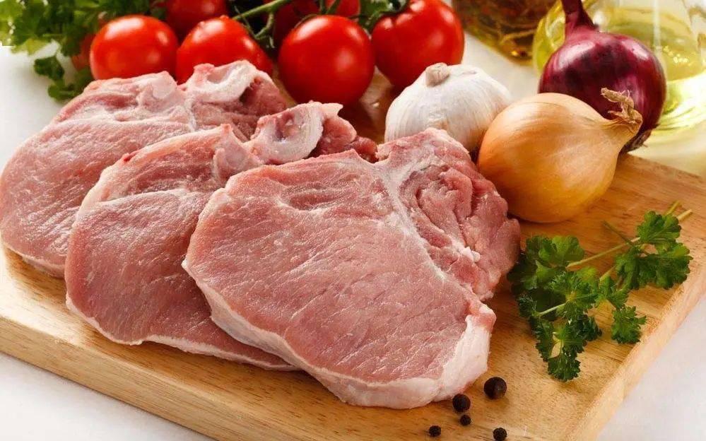 猪肉上不同颜色和形状的章节代表什么?