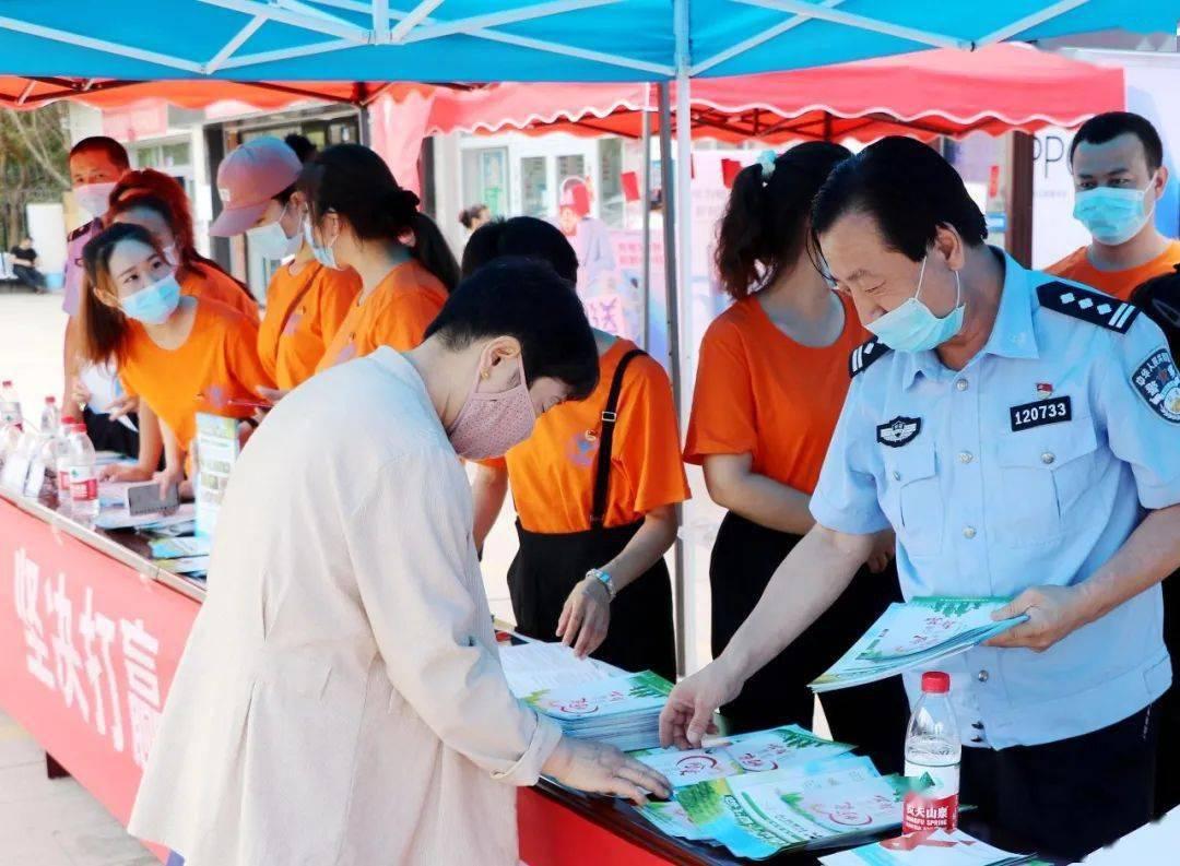 吐鲁番市深入开展禁毒宣传活动