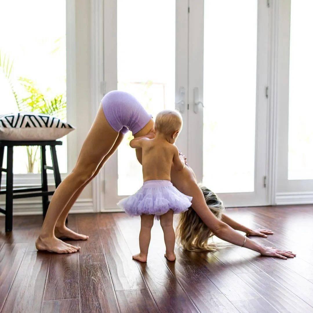 产后腰腹臃肿,显老十岁?9个瑜伽体式,帮你恢复好身材