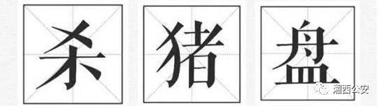 """高富帅?湘西公安揭秘""""杀猪盘""""骗局"""