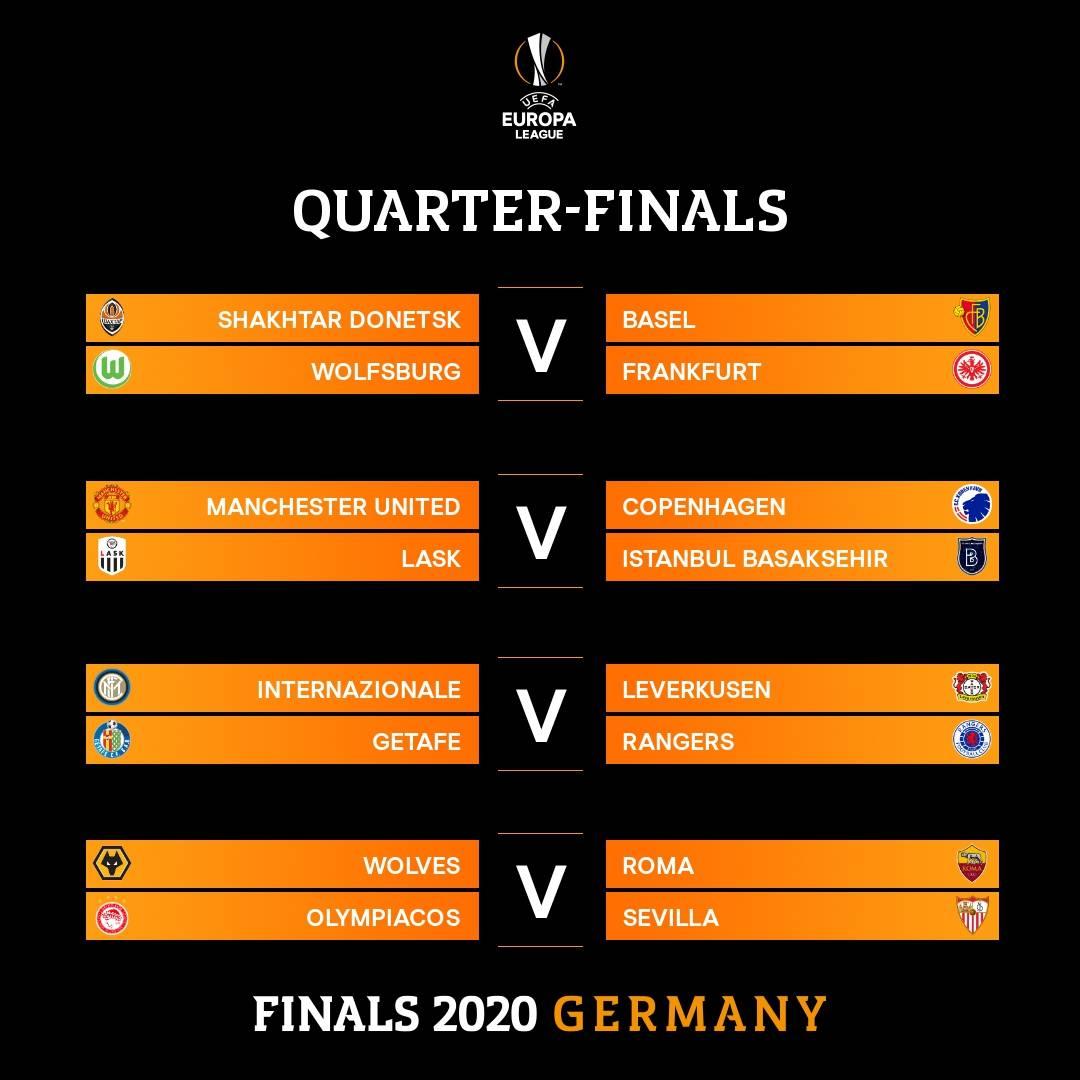 欧联杯8强对阵出炉 16队八月齐聚德国剑指冠军_德国新闻_德国中文网