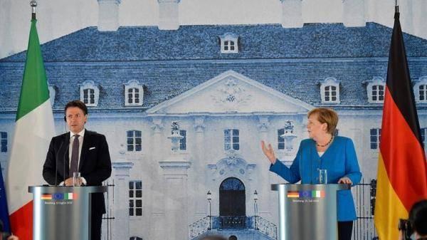 <strong>默克尔:无法保证本周就欧盟复兴计划达成一致</strong>