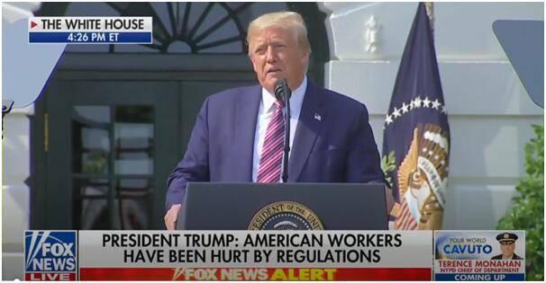 """尴尬了!特朗普在演讲中批评奥巴马,福克斯新闻直播直接给他""""静音""""……"""