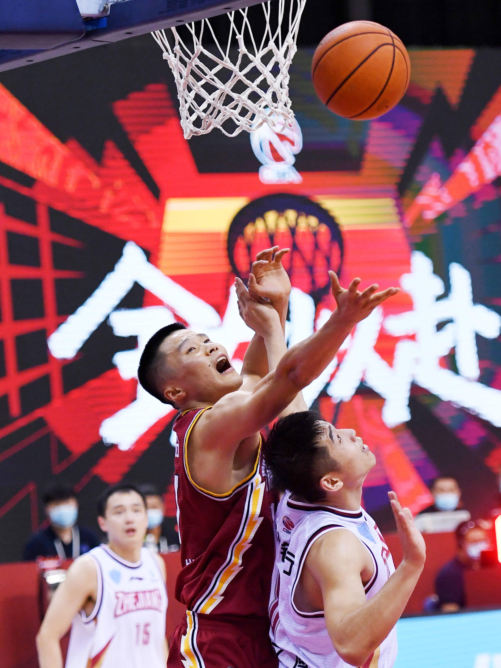 篮球——CBA复赛第二阶段:浙江稠州银行胜山西汾酒股份