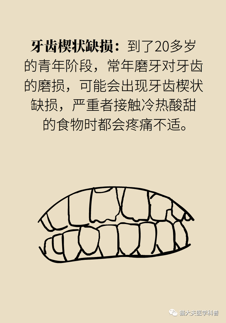 『磨牙』的危害贯穿一生?快拯救你身边磨牙的人!