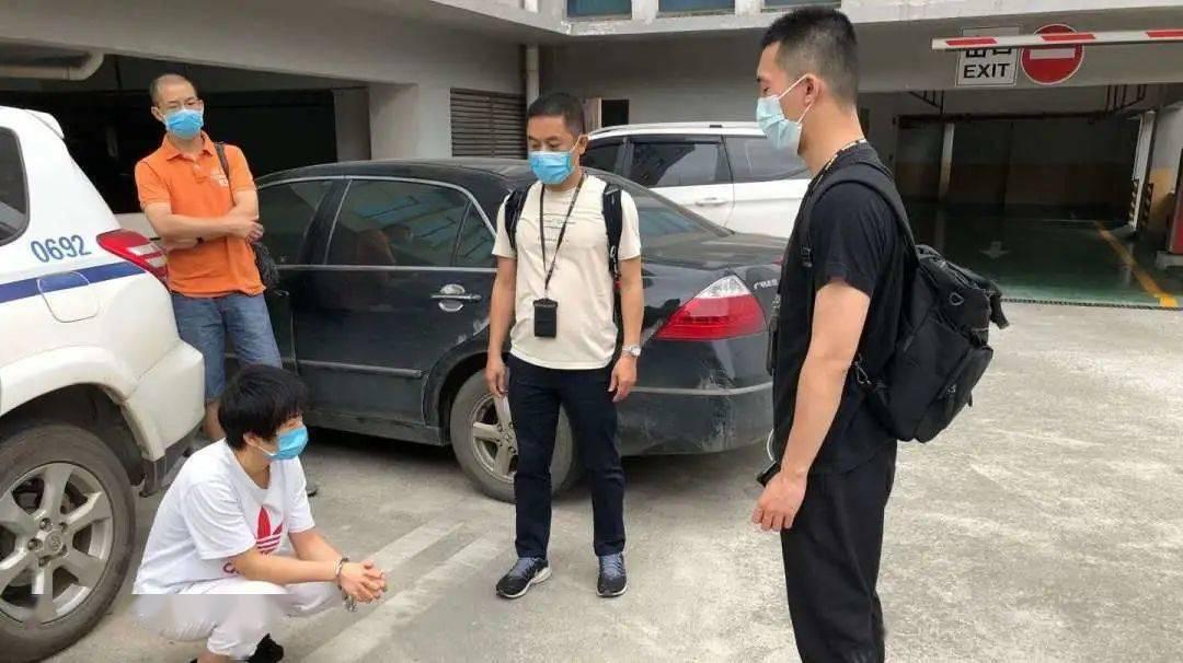藤县远赴钦州,抓6名民族资产解冻类诈骗主要成员