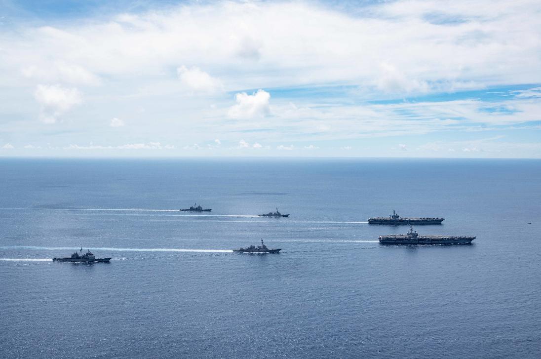 美军连续进入南海军事专家:中美擦枪走火可能性增加英国、澳大利亚是铁杆帮凶