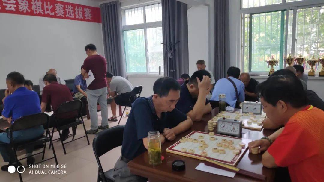 任城区老体协举行济宁市第四届老运会中国象棋比赛选拔赛