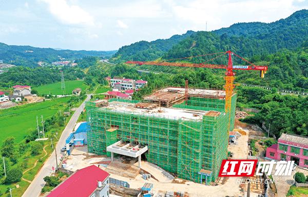 浏阳市社会福利中心预计年底竣工,设置床位300张