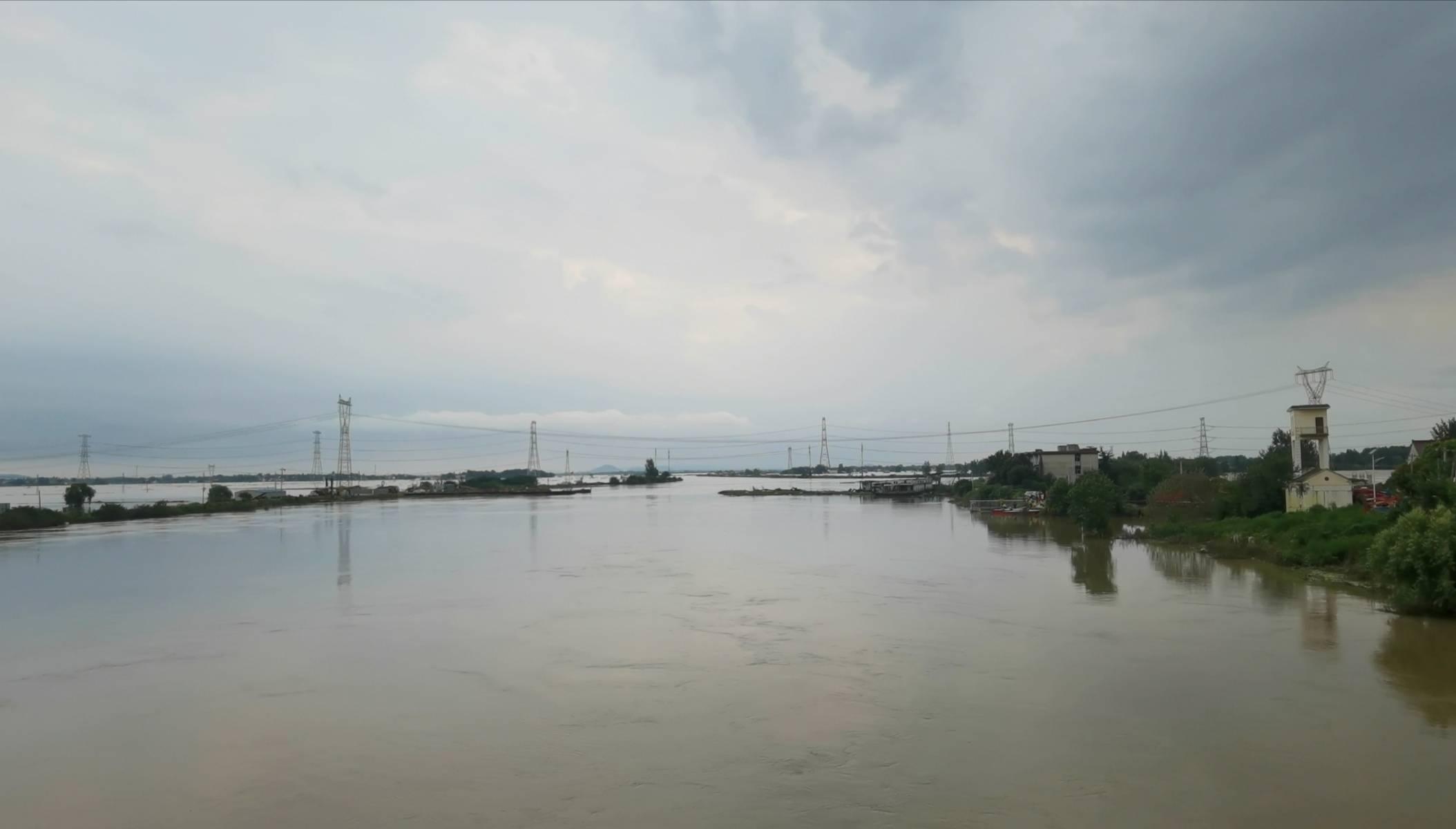 巢湖岸边同大镇:洪水决堤之后