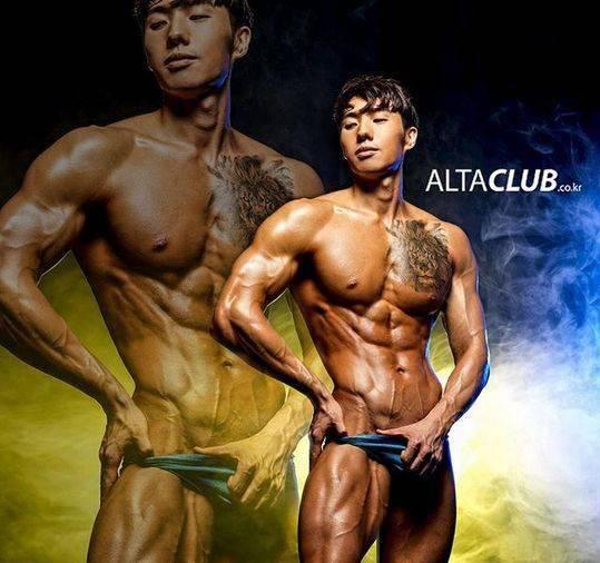 一组亚洲人的肌肉大片,让欧美人都叹为观止......