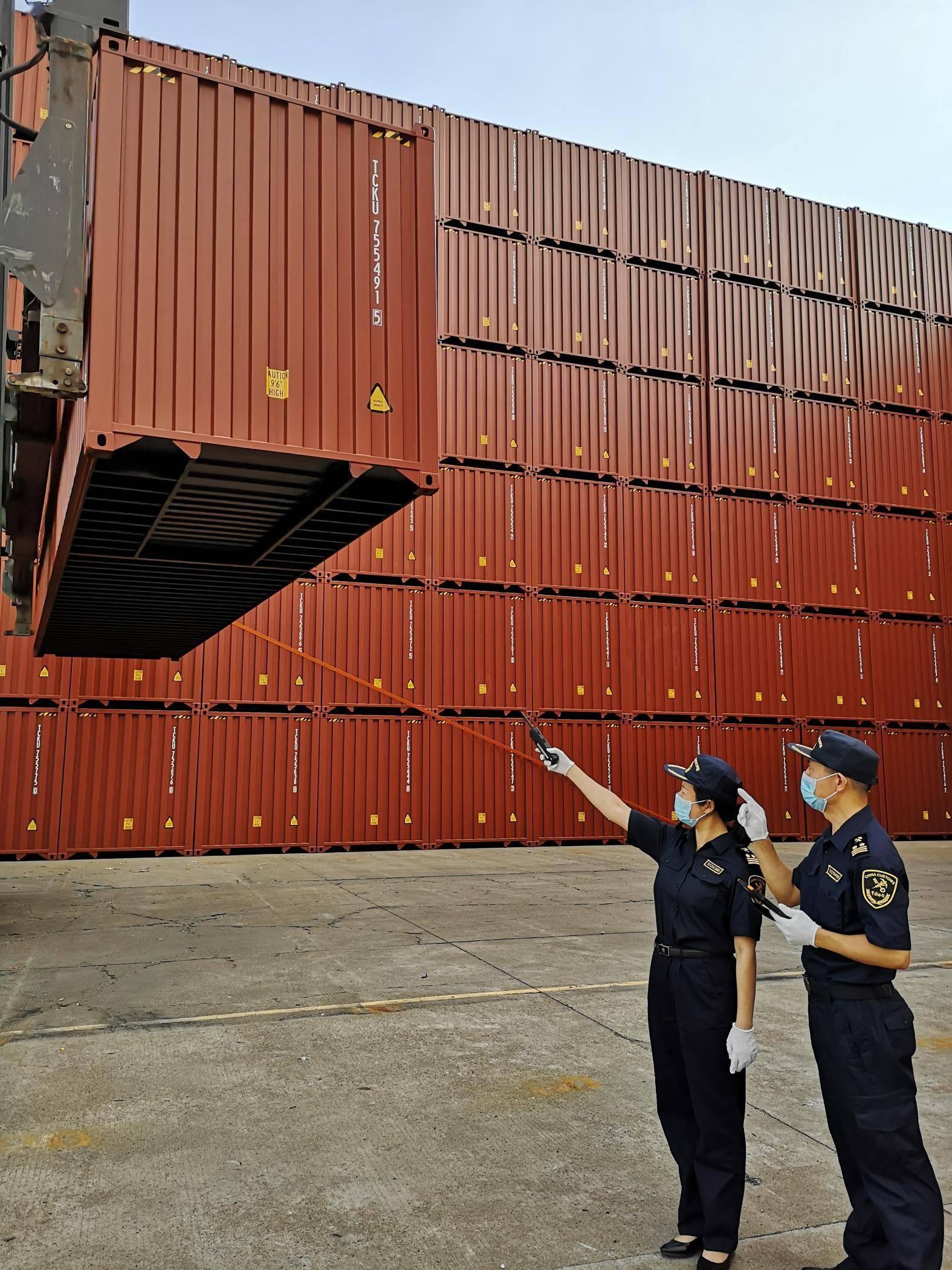 """广州新建集装箱""""出海""""逆势上扬 广州 吞吐量 集装箱"""