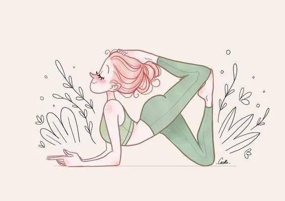 1 套疏通膀胱经的瑜伽序列,排毒、消除身体浮肿!_脊柱