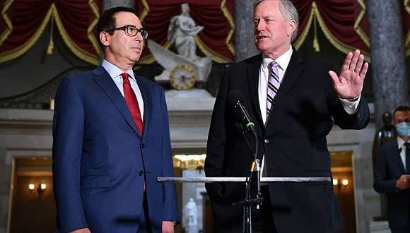 两党分歧太大谈不拢,美财长建议特朗普用行政令发失业救济