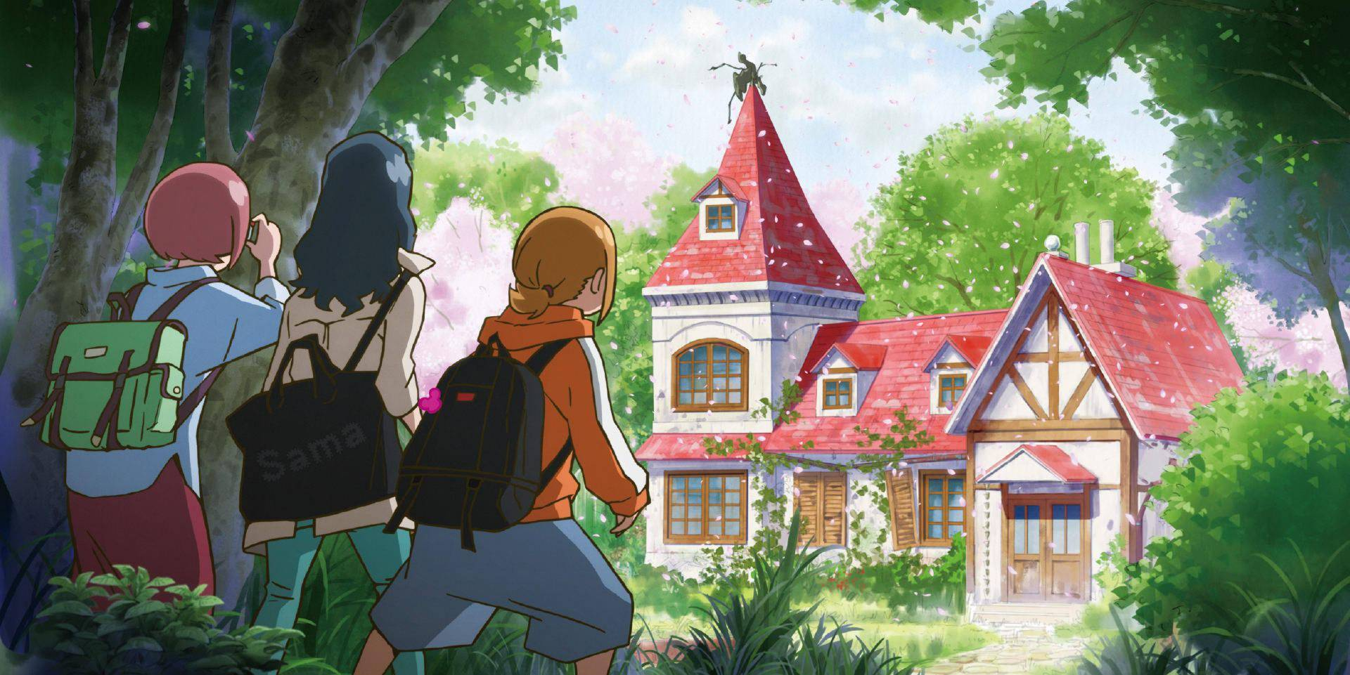 """《寻找见习魔女》三名女生因""""魔法玉""""相遇并结伴旅行展开冒险"""